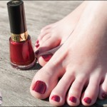 Pé de Chinelo: Cherry Crush – Revlon