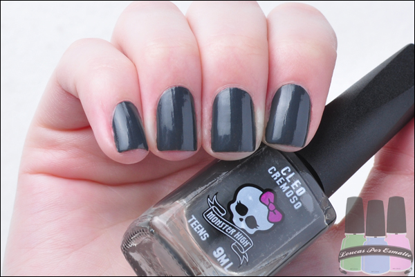 Esmaltes Monster High Kit Cremosos Cleo