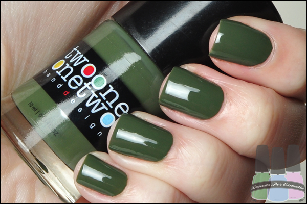 Esmaltes Two One One Two New Militar