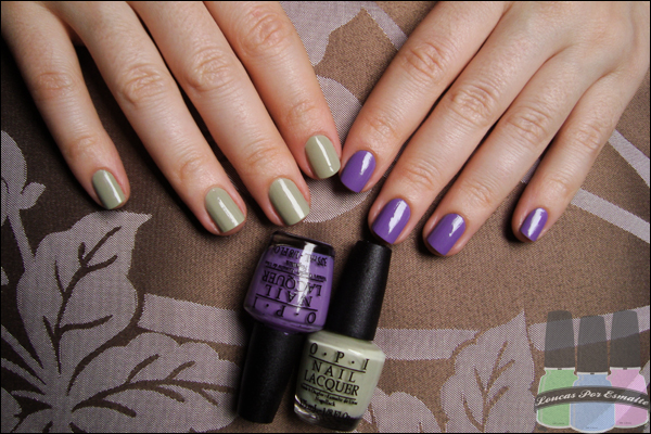 Esmaltes Color blocking