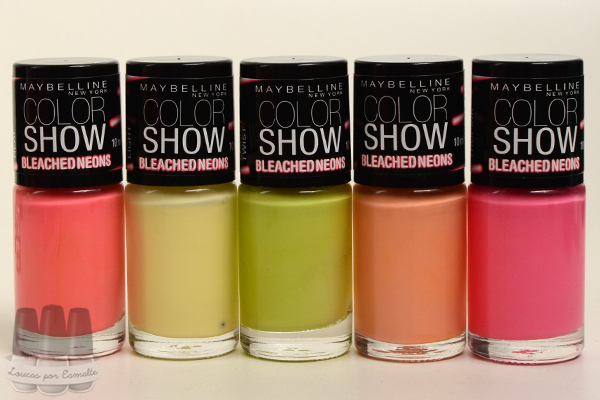 Esmalte Bleached Neons Color Show Maybelline