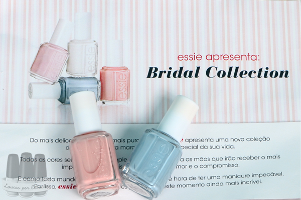 esmalte essie bridal collection noiva