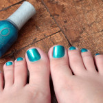 Pés com It's up to Blue – Orly