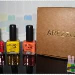 Esmaltes Arezzo: Amarelo Ácido, Laranja Neon e Vermelho