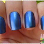 Preto + branco = azul