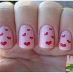 Esmalte para o Dia dos Namorados