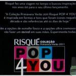 Coleção Pop 4 You – Risqué