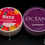Lenços removedores de esmalte: Ricca x Océane Femme