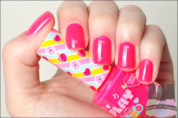 Coleção Play Capricho Esmaltes Think Pink