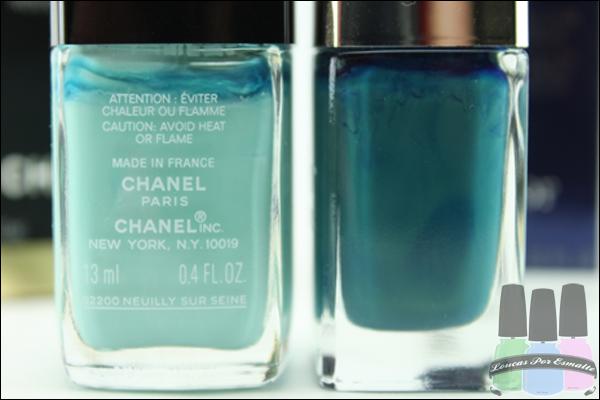 Chanel Esmalte Dior Decantado