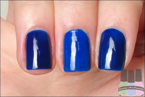 Comparação Esmalte Azul Biônico As Super Cores