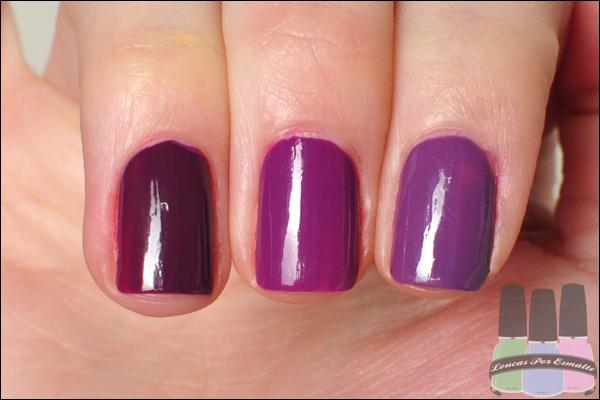 Comparação Esmalte Ultravioleta As Super Cores