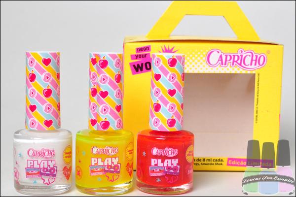 Kit Capricho Neon Your World Esmaltes