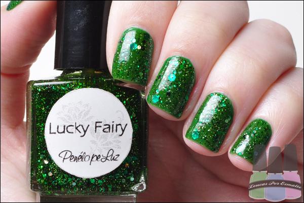 Esmalte verde Lucky Fairy Penélope Luz