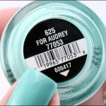 For Audrey – China Glaze