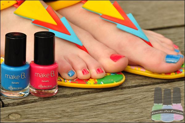Homa manicure pés Esmaltes Make B