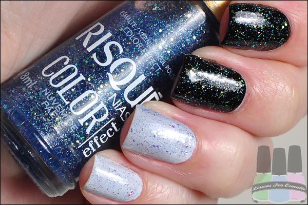 Esmaltes Risqué Color Effect glitter
