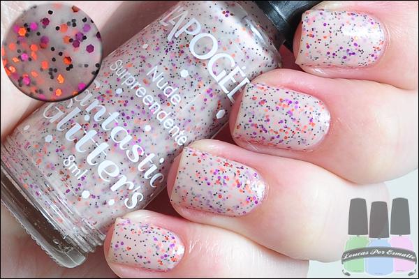 Esmaltes Fantastic Glitter's da L'Apogée