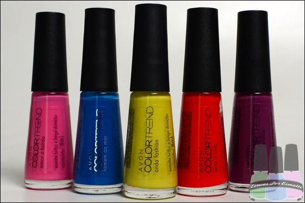 Esmaltes Color Trend Avon Entre Nessa Onda
