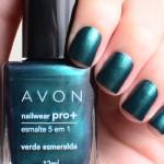 Verde Esmeralda – Avon Nailwear Pro +
