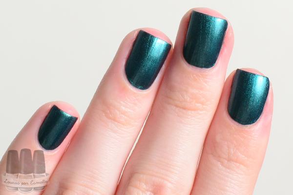 Esmalte Verde Esmeralda Avon Nailwear Pro