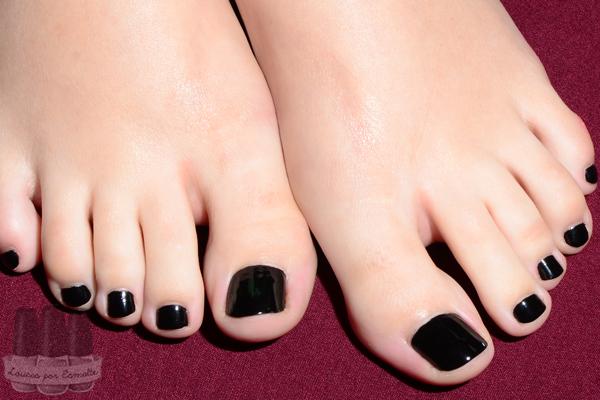 Esmalte YNC Yenzah Black Diamond pés