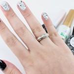 Pseudo Homa Manicure: preto e branco