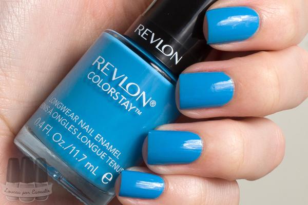 Esmalte azul Revlon Colorstay coastal surf