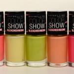 Coleção Bleached Neons – Maybelline Color Show