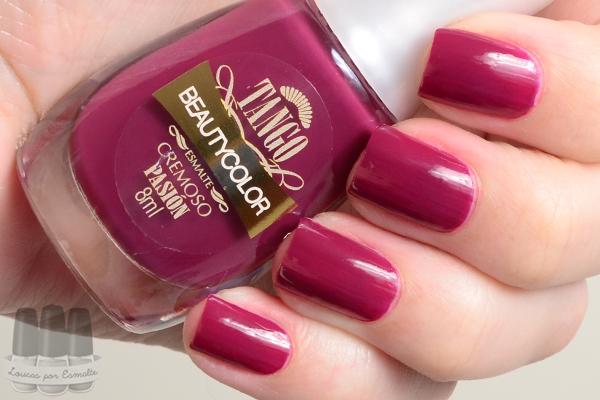 esmaltes beauty color coleção tango