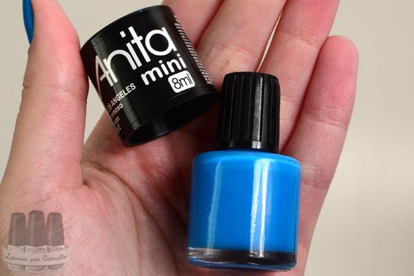 anita esmalte mini azul
