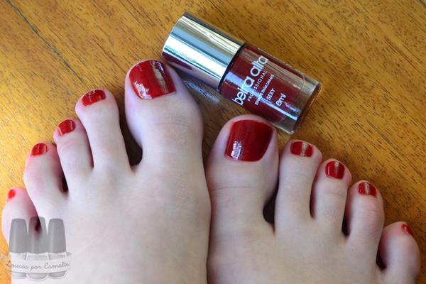 esmalte pés