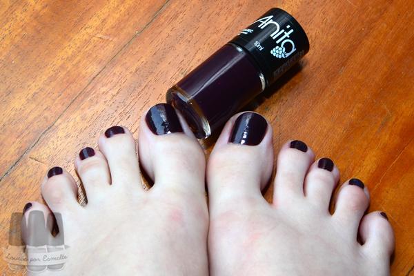 esmalte malbec anita pés