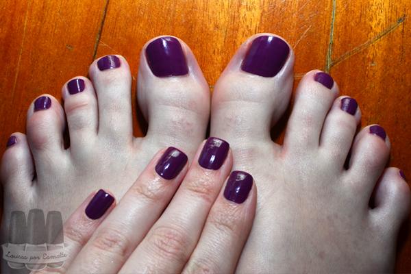 esmalte roxo opi pamplona purple pés